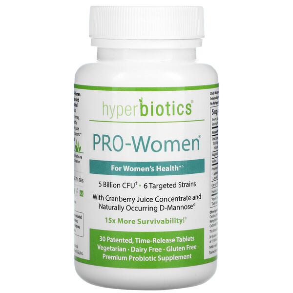 PRO-Women, 5 Billion CFU, 30 Time-Release Tablets