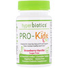 Hyperbiotics, PRO-Kids ENT, Strawberry Vanilla, Sugar Free, 45 Patented LiveBac Chewable Tablets