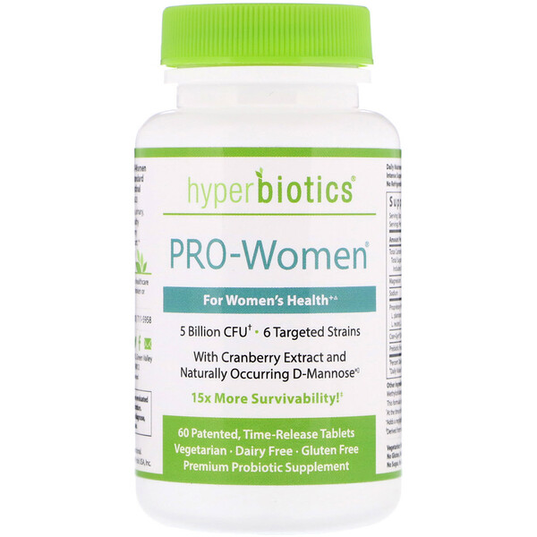 PRO-Women, 5 Billion CFU, 60 Time-Release Tablets