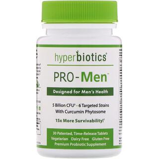 Hyperbiotics, PRO-Men, 5 Billion CFU, 30 Time-Release Tablets