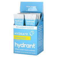 Hydrant, Electrolyte Drink Mix, Lemonade, 12 Pack, 0.13 oz (3.6 g) Each