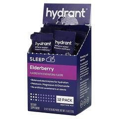Hydrant, 睡眠,睡前混合物,接骨木果,12 包,每包  0.21 盎司(6.06 克)