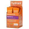 Hydrant, Immunity Drink Mix, Elderberry, 12 Pack, 0.33 oz (9.4 g) Each