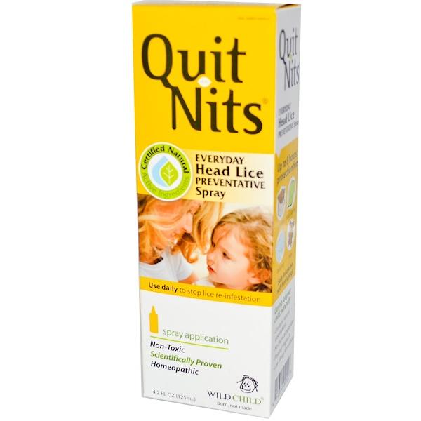 Hyland's, Quit Nits, Everyday, Head Lice, Preventative Spray, 4.2 fl oz (125 ml) (Discontinued Item)