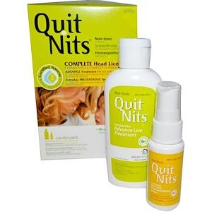 Хайлэндс, Quit Nits, Complete Head Lice Kit, 4 Piece Kit отзывы
