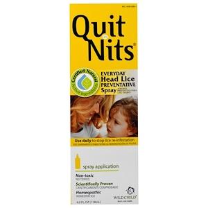 Хайлэндс, Quit Nits, Everyday Head Lice Preventative Spray, 4.0 fl oz (118 ml) отзывы