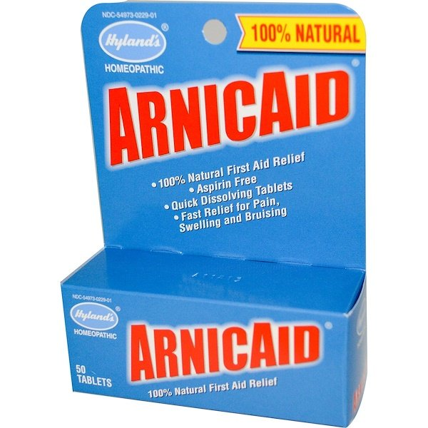 Hyland's, ArnicAid, 50 Tablets (Discontinued Item)