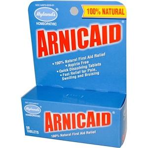 Хайлэндс, ArnicAid, 50 Tablets отзывы