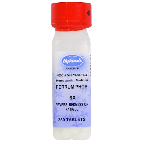 Hyland's, Ferrum Phos. 6X, 250 Tablets (Discontinued Item)
