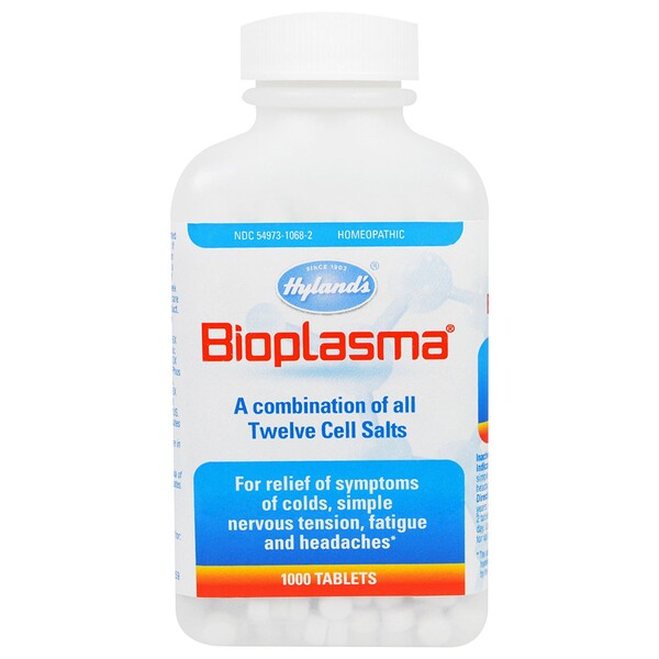 Hyland's, Bioplasma, 1000 Tablets (Discontinued Item)