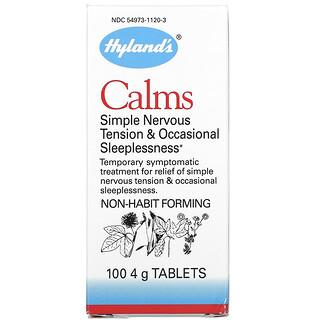 Hyland's, Calms, 4 g, 100 Tablets