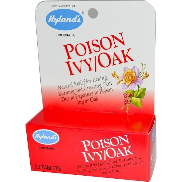 Hyland's, Poison Ivy/Oak, 50 Tablets (Discontinued Item)