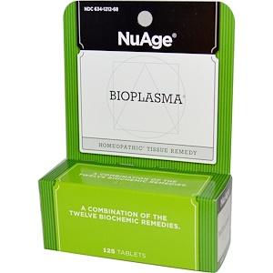 Хайлэндс, NuAge, Bioplasma, 125 Tablets отзывы покупателей