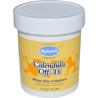 Календула Off. 1x, гомеопатическая мазь, 3.5 унций (105 г)