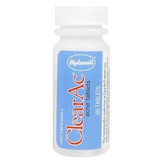 Hyland's, ClearAc, 50 Tablets