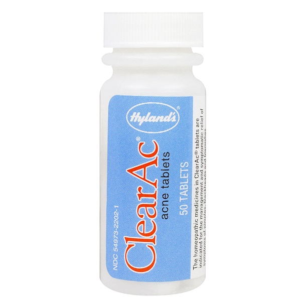 Hyland's, ClearAc, 50 Tabletas (Discontinued Item)