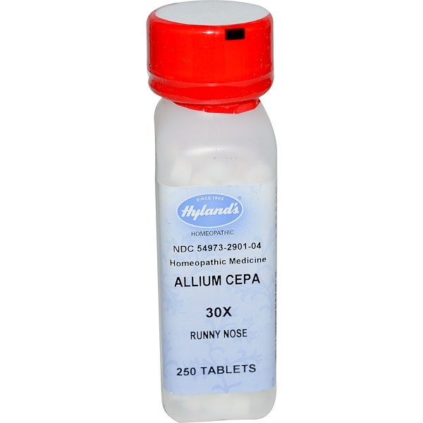 Hyland's, Allium Cepa 30X, 250 Tablets (Discontinued Item)