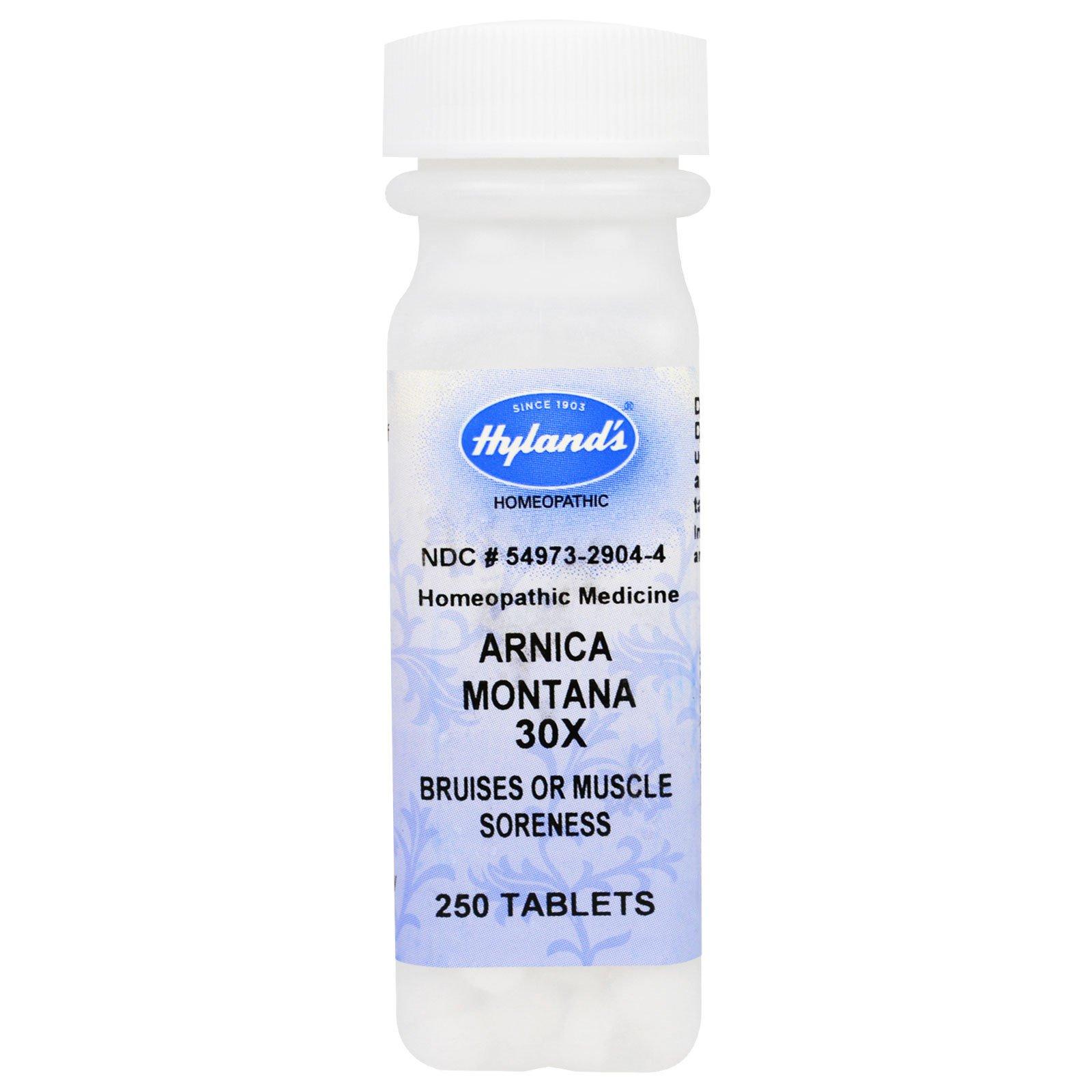 Hyland's, Арника горная (Arnica montana) 30X, 250 таблеток