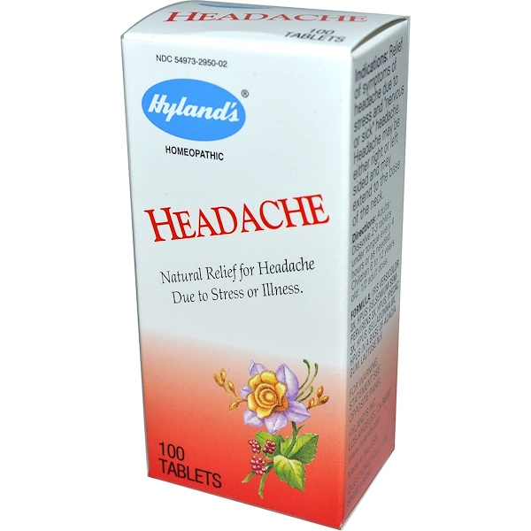 Hyland's, Headache, 100 Tablets (Discontinued Item)