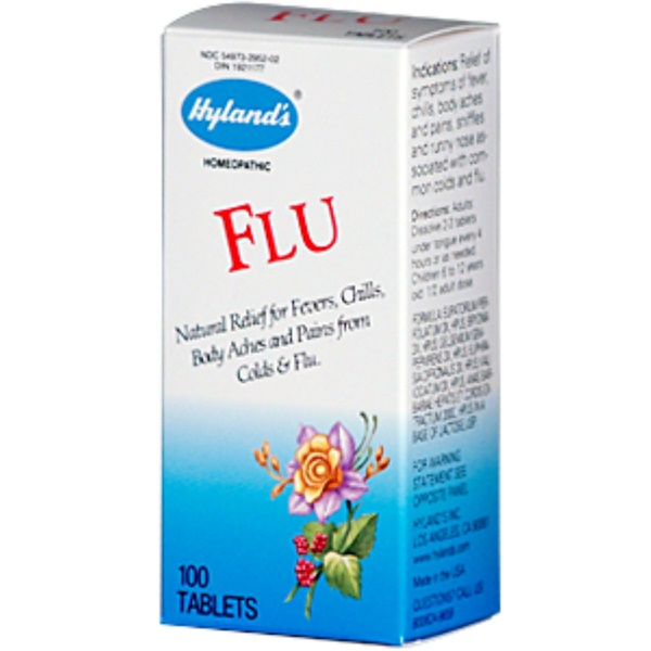 Hyland's, Flu, 100 Tablets (Discontinued Item)