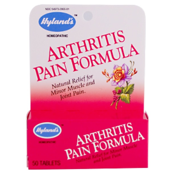Hyland's, Arthritis Pain Formula, 50 Tablets (Discontinued Item)