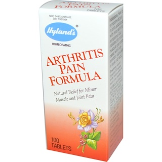 Hyland's, Arthritis Pain Formula, 100 Tablets
