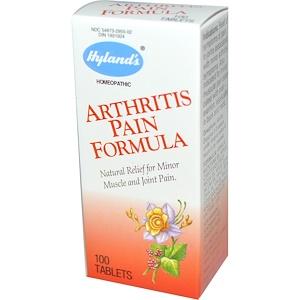 Хайлэндс, Arthritis Pain Formula, 100 Tablets отзывы