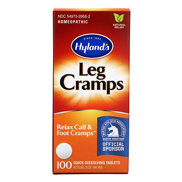 Leg Cramps, 100 Quick-Dissolving Tablets