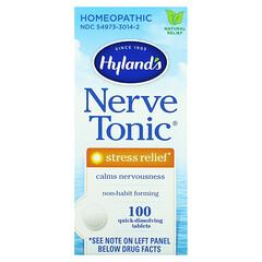 Hyland's, 全天然舒緩神經&減壓片,100片