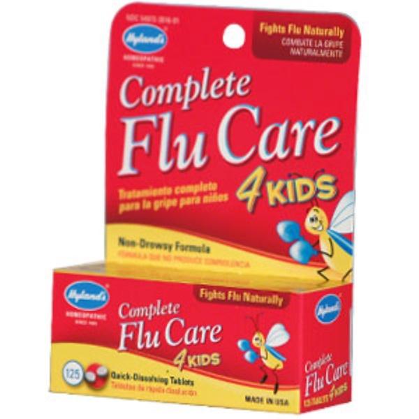 Hyland's, Complete Flu Care 4 Kids, 125 Tablets (Discontinued Item)