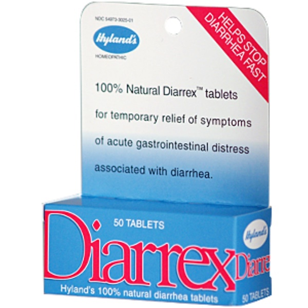 Hyland's, Diarrex, 50 Tablets (Discontinued Item)