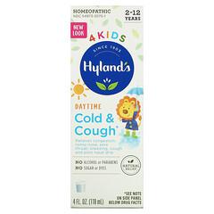 Hyland's, 4 Kids,著涼和咳嗽,白天,2-12 歲,4 液量盎司(118 毫升)