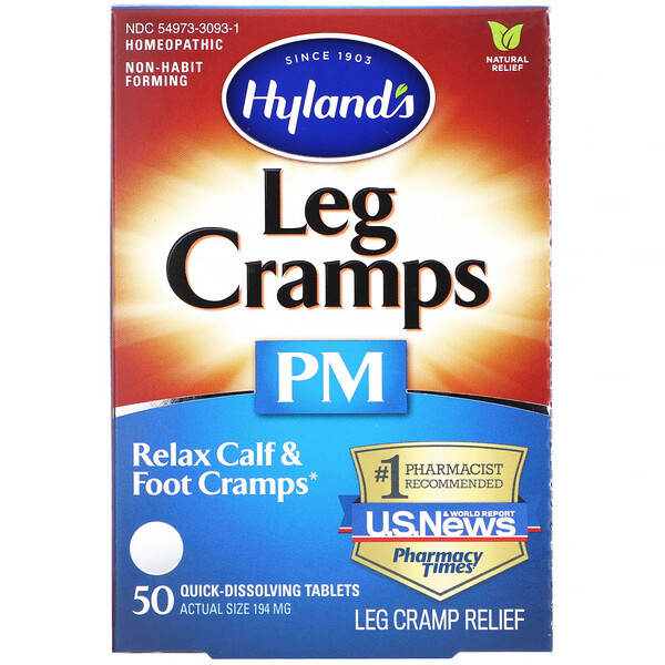 Leg Cramps PM, 50 Quick-Dissolving Tablets