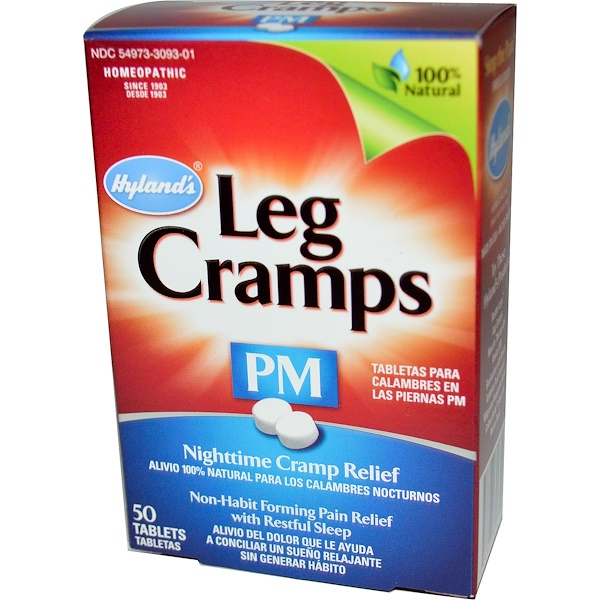 Hyland's, Leg Cramps PM, 50 Tablets