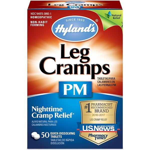 Hyland's, Leg Cramps PM, 50 Quick-Dissolving Tablets