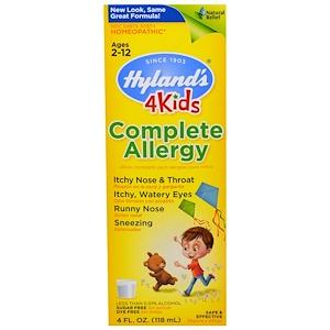 Хайлэндс, 4 Kids , Complete Allergy , 4 fl oz (118 ml) отзывы покупателей