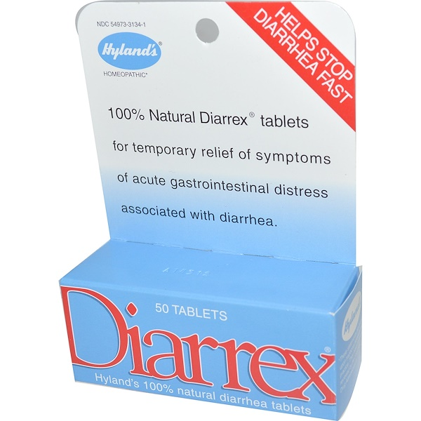 Diarrex, 50 Tablets