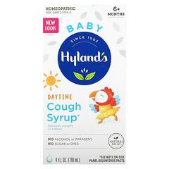 Hyland's, 嬰兒,日間咳嗽緩解糖漿,6 個月以上,4 液量盎司(118 毫升)