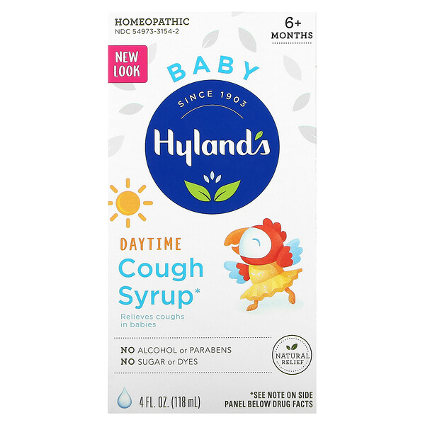 Baby, Daytime Cough Syrup, 6+ Months, 4 fl oz (118 ml)