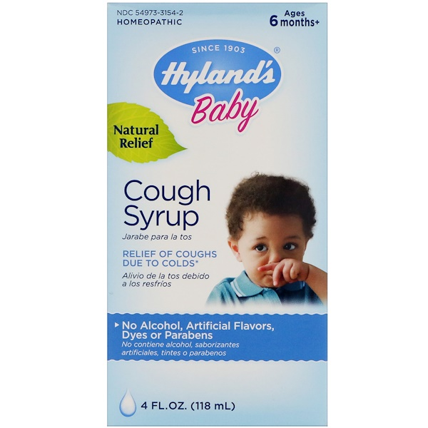 Hyland's, Baby, Cough Syrup, 4 fl oz (118 ml)