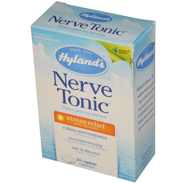 Hyland's, Nerve Tonic, Stress Relief, 32 Caplets (Discontinued Item)