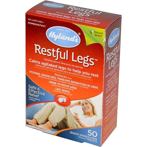 Hyland's, Entspannte Beine, 50 schnelll÷sliche Tabletten
