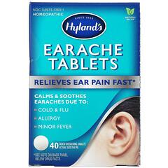 Hyland's, 耳痛緩解片劑,40 片即溶片