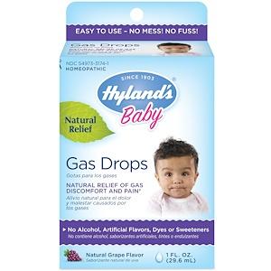 Хайлэндс, Baby, Gas Drops, Natural Grape Flavor, 1 fl oz (29.5 ml) отзывы покупателей