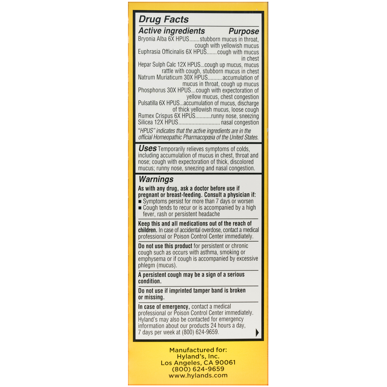 Hylands 4 kids cold n mucus ages 2 12 4 fl oz 118 ml iherb click to zoom nvjuhfo Image collections