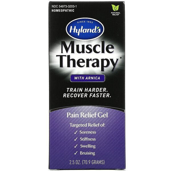 Muscle Therapy with Arnica, Pain Relief Gel, 2.5 oz (70.9 g)