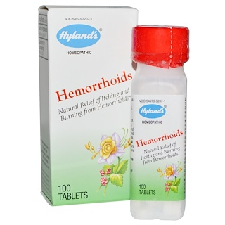 Hyland's, Hemorrhoids, 100 Tablets