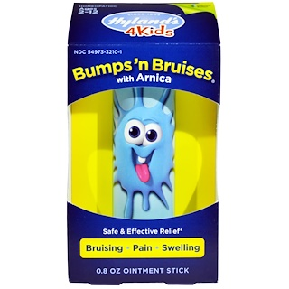 Hyland's, 4Kids, Bumps 'n Bruises, with Arnica, Ointment Stick, 0.8 oz