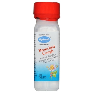 Hyland's, Bronchial Cough, 100 Tablets