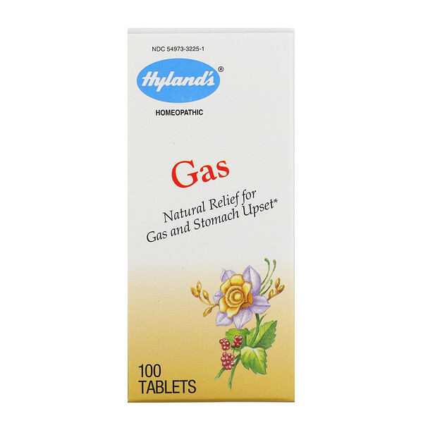 Hyland's, Gas, 100 Tablets